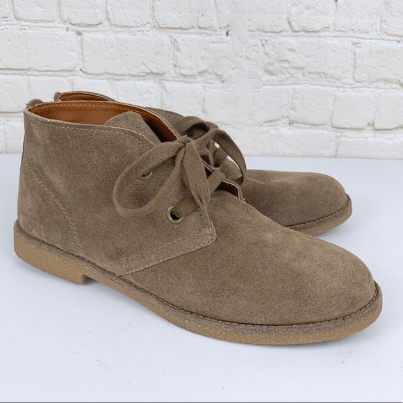 Lucky Brand Shoes - Lucky Brand Emillia Chukka Suede Boots
